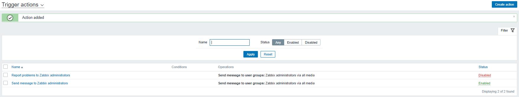 zabbix ubuntu server mail