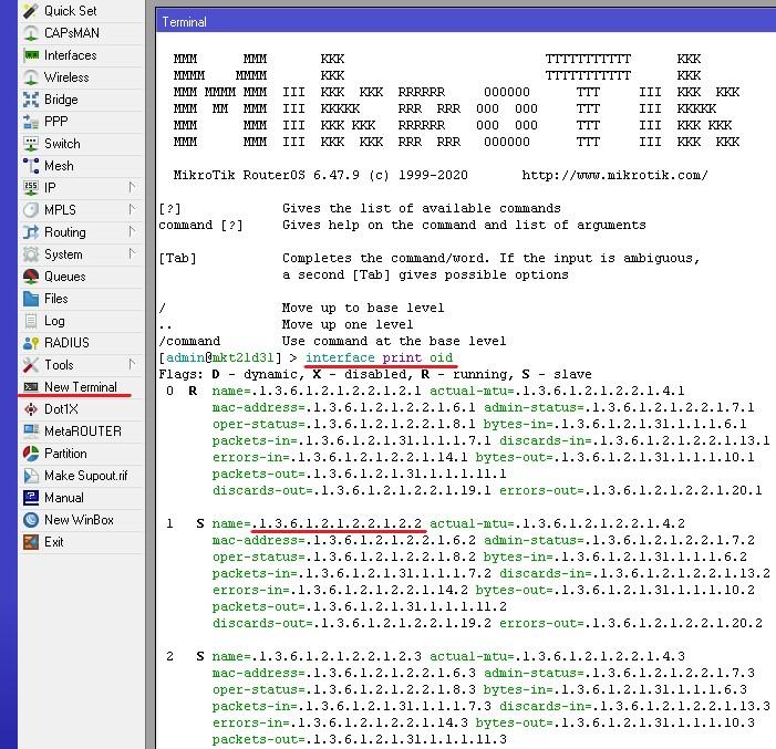 ubuntu server mikrotik snmp interface